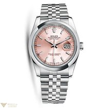 Rolex Oyster Perpetual Datejust Stainless Steel Unisex Watch
