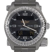 Breitling Emergency : E56321 Titanium ( With Box & Papers)