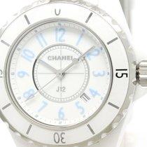 Chanel J12 Blue Light Ltd Edition Ceramic Ladies Watch H3826...