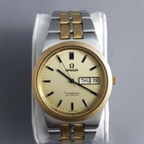 Omega Constellation Automatic Day and Date 1970s MINT 18k/steel