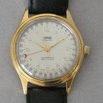 Oris 36mm Remontage manuel 1960 occasion Argent