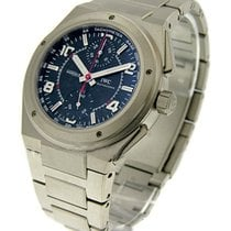 IWC 372503 Ingenieur Chronograph AMG in Titanium - Titanium on...