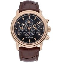 Blancpain Léman Fly-Back new 2018 Automatic Chronograph Watch with original box and original papers 2685F-3630-53B