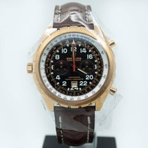 Breitling Yellow gold Automatic Black 45mm pre-owned Chrono-Matic (submodel)