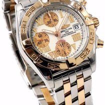 Breitling Chrono Galactic C13358 - 39mm 18k Rose Gold &...