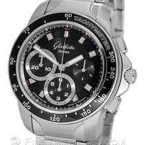 Glashütte Original Sport Evolution Chronograph Steel 42mm Black