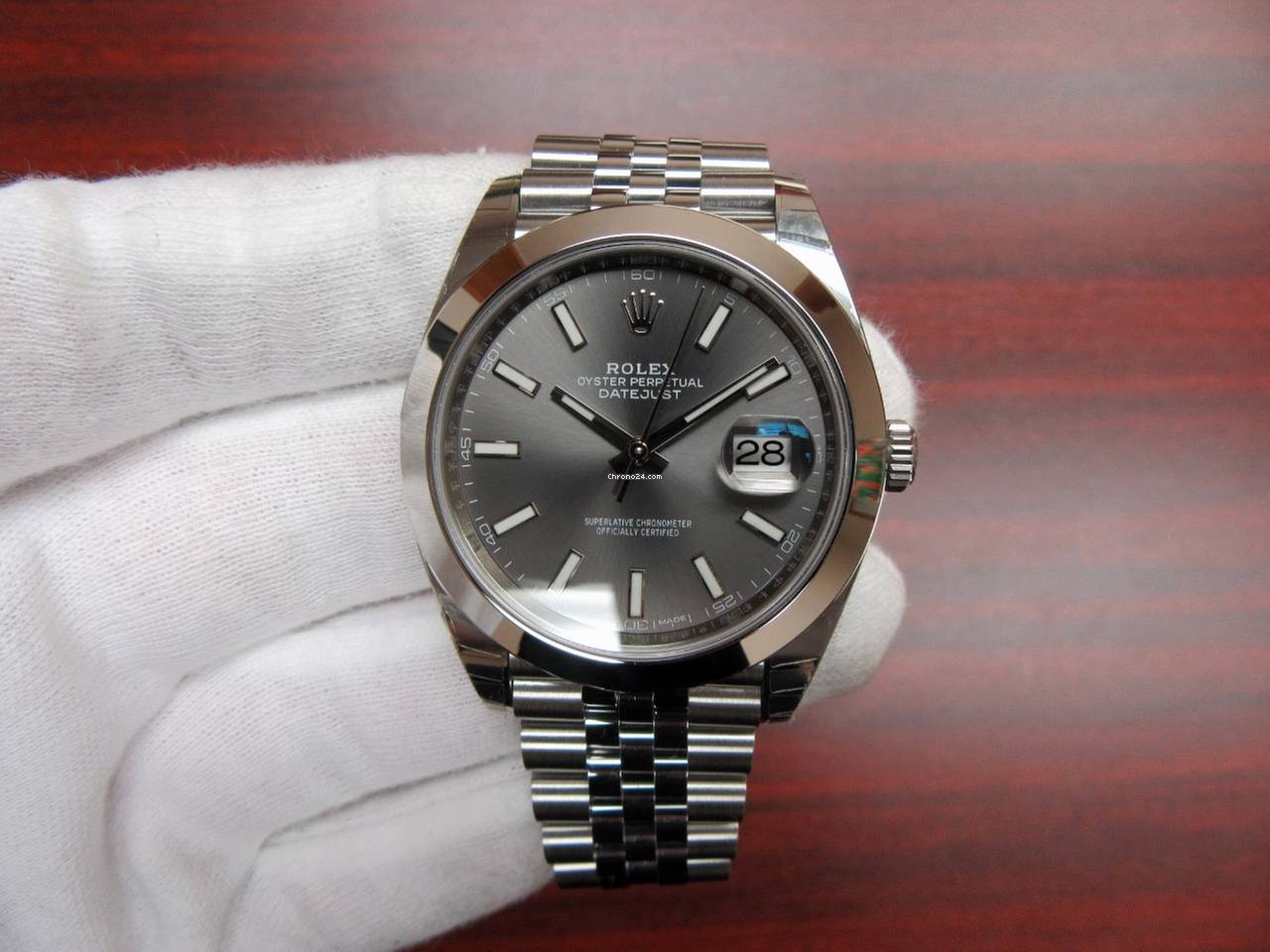 rolex datejust 41 rhodium index dial jubilee bracelet f r kaufen von einem trusted. Black Bedroom Furniture Sets. Home Design Ideas