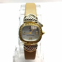 David Yurman Gold/Steel Quartz pre-owned
