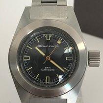 Germano & Walter 500 M Diver Stainless Steel 500m ETA Caliber...