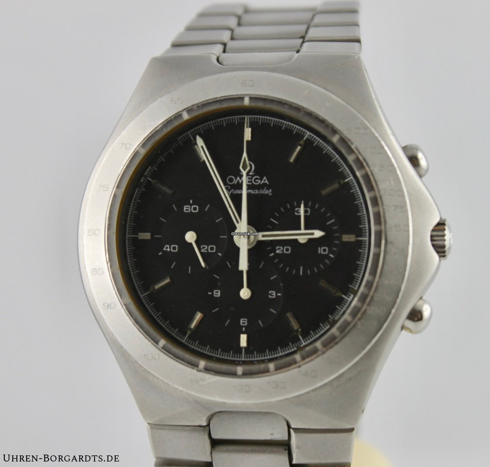 Wunderbar Xxl Uhren Referenz Von Omega Teutonic St345.0803 145.0040 Cal.861 Baujahr 1983+papier