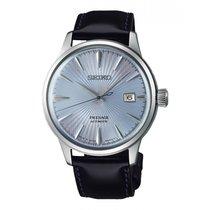 Seiko Reloj Seiko Presage Hombre Azul Piel Automático