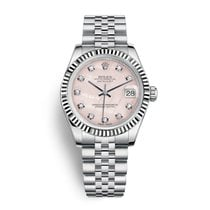 Rolex Lady-Datejust 31 Pink MOP Diamond Dial
