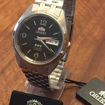 Orient Steel 36mm Automatic FAB0000EB9 new