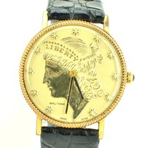 Waltham 33.3mm Manual winding 1960 pre-owned Gold