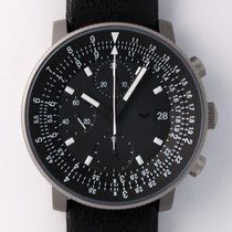 Ventura Chronograph 40mm Automatic pre-owned Black
