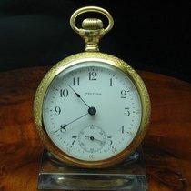 Waltham Gold Mantel Opan Face Taschenuhr Von Ca. 1904