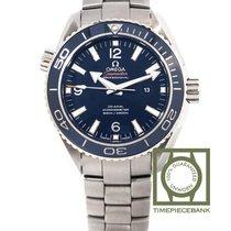 Omega Seamaster Planet Ocean Titane 37.5mm Bleu Arabes