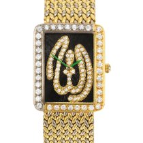 Graff Reference 3966 A Yellow And White Gold Diamond-set...