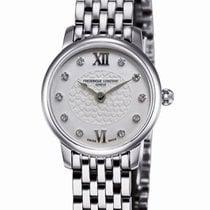 Frederique Constant Slimline Mini new Quartz Watch with original box FC-200WHDS6B