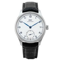 IWC Aço 43.2mm Corda manual IW510212 novo