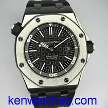 愛彼 Royal Oak Offshore Diver 鋼 42mm 黑色 無數字 香港, Wan Chai, Hong Kong