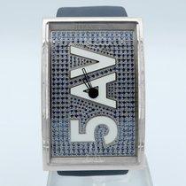 Tiffany 46mm Quartz pre-owned Blue