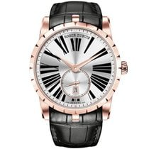 Roger Dubuis 42mm Automatic 2017 pre-owned Excalibur White