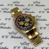 Rolex 116598 RBOW Or jaune 2013 Daytona 40mm occasion
