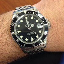 Tudor 75190 Staal 1997 Submariner 36mm tweedehands