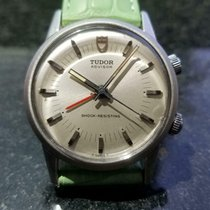 Tudor Steel Manual winding Silver 35mm pre-owned Heritage Advisor