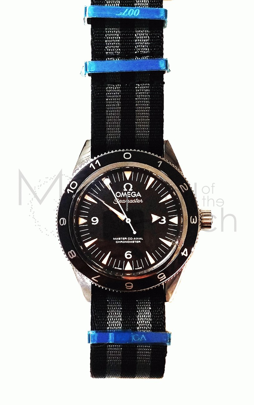 Omega Seamaster 300 Omega Master Co-axial 41 mm «spectre» Limited Edition