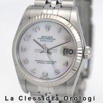 Rolex Сталь Автоподзавод Перламутровый 31mm подержанные Lady-Datejust