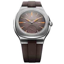 Laurent Ferrier Steel Manual winding LCF 041.AC.G1GO new