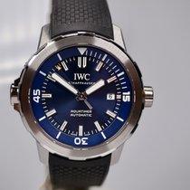 IWC Aquatimer Automatic Сталь 42mm Синий Aрабские