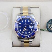 Rolex Submariner Date Ouro amarelo 40mm Azul Sem números Portugal, Madalena Amarante