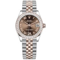 Rolex Datejust 278381RBR New Gold/Steel 31mm Automatic