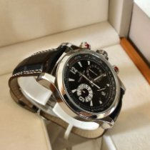 Jaeger-LeCoultre Master Compressor Chronograph Steel Black Arabic numerals United States of America, New York, Brooklyn