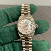 Rolex Lady-Datejust Oro blanco 26mm Madreperla Árabes