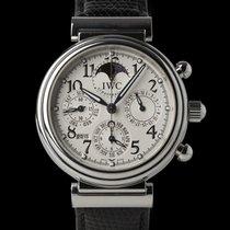 IWC Da Vinci Perpetual Calendar Stål 42mm Silver