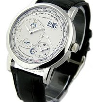 A. Lange & Söhne 116.025 Lange 1 Timezone Mens Mechanical...