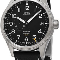 Oris Big Crown ProPilot GMT Steel Black United States of America, New York, Brooklyn