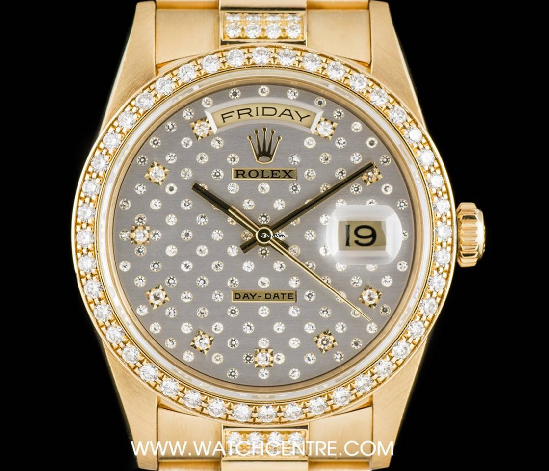 e35d341f76a Rolex Day-Date Ouro amarelo - Todos os preços de relógios Rolex Day-Date  Ouro amarelo na Chrono24