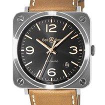 Bell & Ross Aviation Unisex Watch BRS92-G-HE-ST