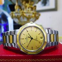 Baume & Mercier Riviera Gold Stainless Steel Quartz Watch...