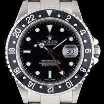 Rolex GMT-Master II Steel Black Bezel