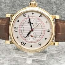 Jean-Mairet & Gillman - 18 k rose gold with single button...