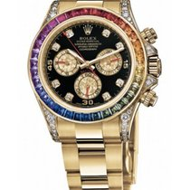 Rolex 116508 Rainbow Yellow gold Daytona 40mm