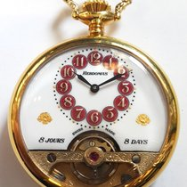 Hebdomas 8 Days Pocket Watch