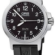 Oris BC3 Steel 42mm Black United States of America, New York, Airmont