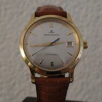 Jaeger-LeCoultre Master Control Date. 18K, deployant clasp